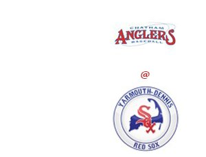 The Chatham Anglers visit the Yarmouth Dennis Red Sox in the Cape Cod Baseball League Matchup