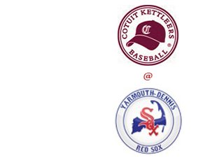 The Cotuit Kettleers visit the Yarmouth Dennis Red Sox in the Cape Cod Baseball League Matchup