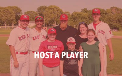 Host a Yarmouth-Dennis Red Sox Baseball Player