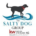 Logo for Emily Shimansky and The Salty Dog Group who are proud sponsors of the Yarmouth Dennis Red Sox.