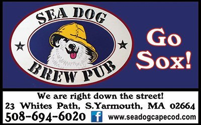 Sea Dog Brew Pub in Yarmouth, MA on Cape Cod is a proud sponsor of the Yarmouth - Dennis Red Sox Baseball Team
