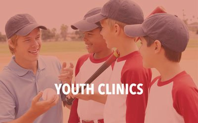 The Yarmouth-Dennis Red Sox offer youth Baseball Clinics